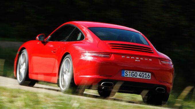 Porsche 911 Carrera, Heckansicht