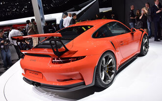 Porsche 911 GT3 RS in Genf