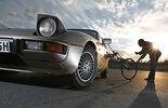 Porsche 924, Frontansicht, Peiselerrad