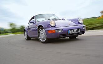 Auch der 964 ist ein echter Elfer!