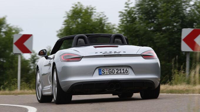 Porsche Boxster GTS, Heckansicht