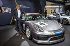 Sitzprobe Porsche Cayman GT4 Clubsport