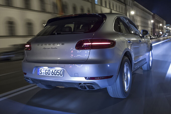 porsche macan turbo im fahrbericht unerh rt agiler mini. Black Bedroom Furniture Sets. Home Design Ideas