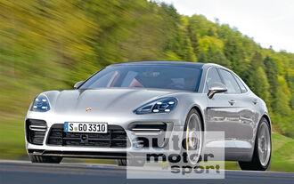 Porsche Pajun, Frontansicht