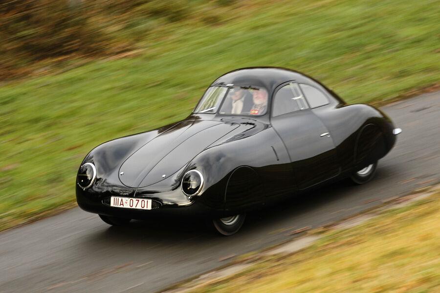 porsche typ 64 fahrbericht berlin rom wagen auto motor und sport. Black Bedroom Furniture Sets. Home Design Ideas