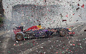 Red Bull-Showrun Mexiko