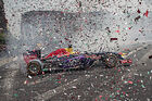 Red Bull - F1-Show - Mexiko - 2015 - Ricciardo Sainz