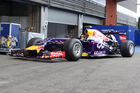 Red Bull mit Elektro-F1-Renner in Spa