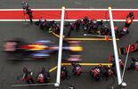 Red Bull Webber Formel 1 Test Barcelona 2011
