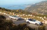 Reise mit Klassiker, Mercedes SL, Porsche 911