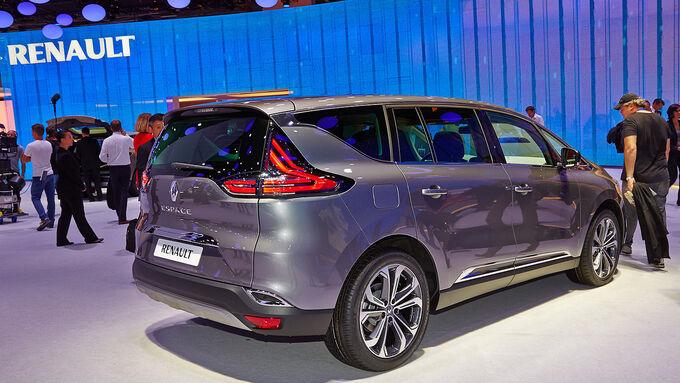 Renault Espace auf dem Autosalon in Paris 2014 Das ist die neue Van