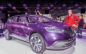 Renault Initiale Paris Sitzprobe Michael Maydell IAA 2013