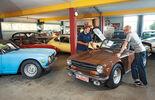 Roadsters, Werkstatt