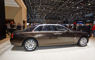 Rolls-Royce Ghost Series 2, Genfer Autosalon, Messe, 2014