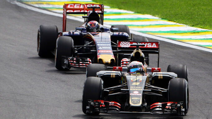 Romain Grosjean - GP Brasilien 2015