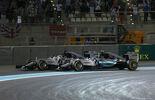 Rosberg  Hamilton - GP Abu Dhabi 2015