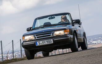 Saab 900i 16 Cabrio, Frontansicht
