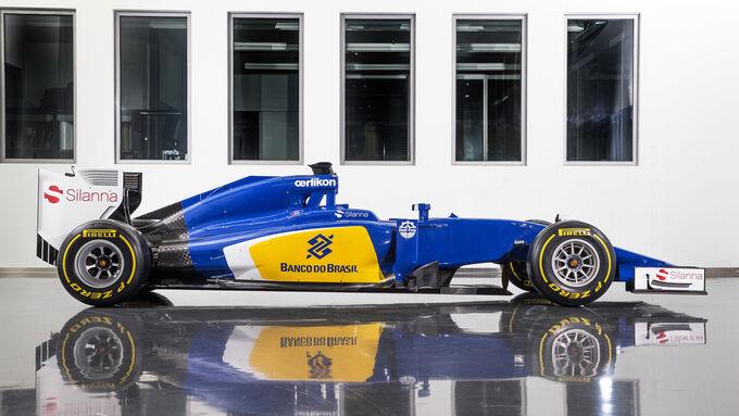 Sauber C34 für 2015