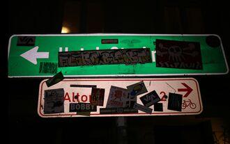 Schilderüberwachungsverein Verkehrsschilder
