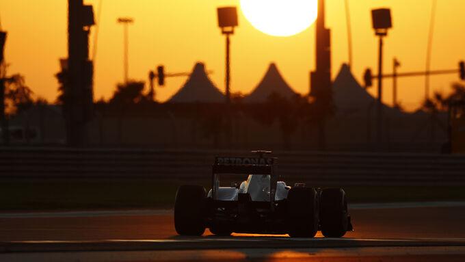 Schumacher GP Abu Dhabi 2011