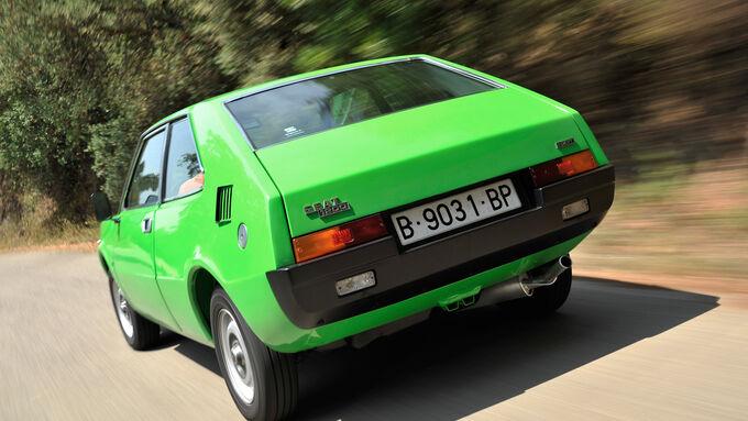 Seat 1200 Sport Bocanegra, Heckansicht