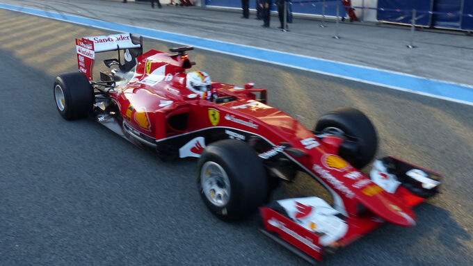 F1 Fotos Jerez-Test (Tag 1)