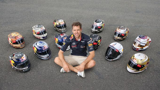 Sebastian Vettel - Helme