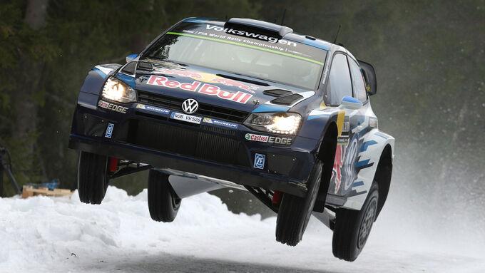 Sebastien Ogier - Rallye Schweden 2015