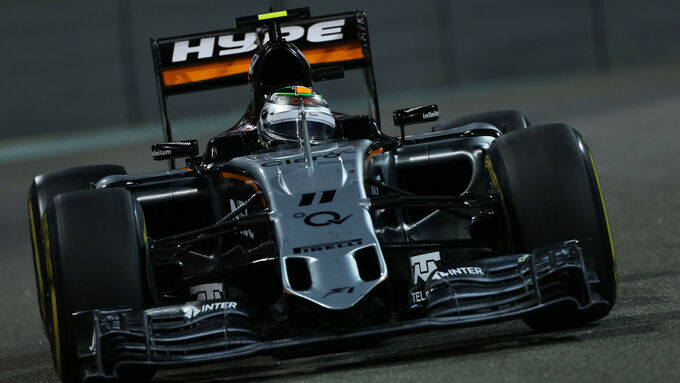 Force India vierte Kraft