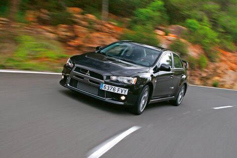 Serienfahrzeuge Limousinen bis 50 000 € - Mitsubishi Lancer Evolution