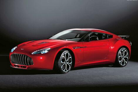 Serienfahrzeuge Supersportler - Aston Martin V12 Zagato