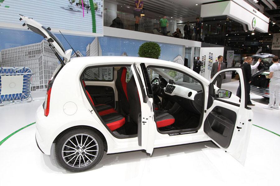 skoda citigo viert rer in genf mehr t ren kleinerer preis auto motor und sport. Black Bedroom Furniture Sets. Home Design Ideas