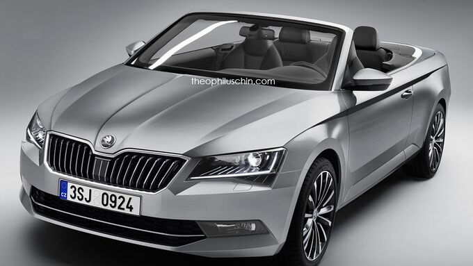 Skoda Superb Convertible