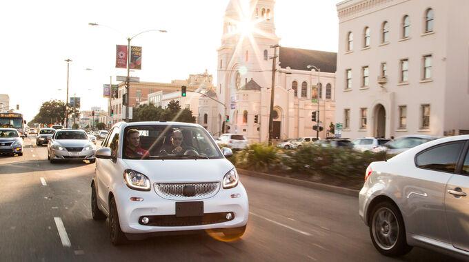 Smart Fortwo Cabrio 0.9, Frontansicht