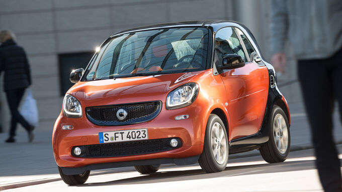 Smart Fortwo Coupé 0.9, Front view