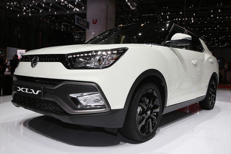 ssangyong tivoli xlv kompakt suv als langversion auto motor und sport. Black Bedroom Furniture Sets. Home Design Ideas
