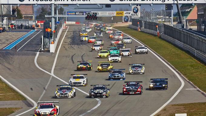 Start - VLN 1 - Nürburgring Nordschleife - 29. März 2014