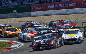 Alle Rennwagen der VLN 2014