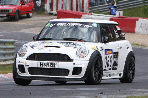 Startnummer #366, VLN, Langstreckenmeisterschaft Nürburgring, 2011
