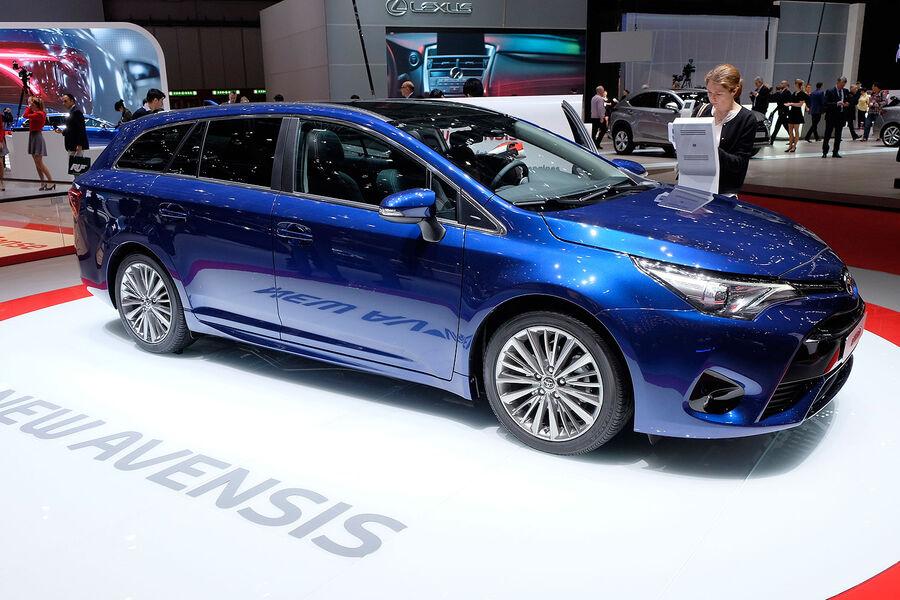 Neuer Toyota Avensis Mehr Ausstattung gleicher Preis