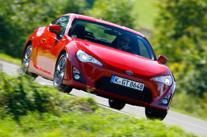 Toyota GT86 Pure, Frontansicht