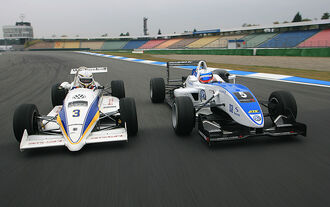 Tracktest ams 24/10 Ralt-VW Dallara-VW, Formel 3