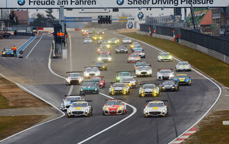 VLN 1. Lauf 2015 Nürburgring Nordschleife Start