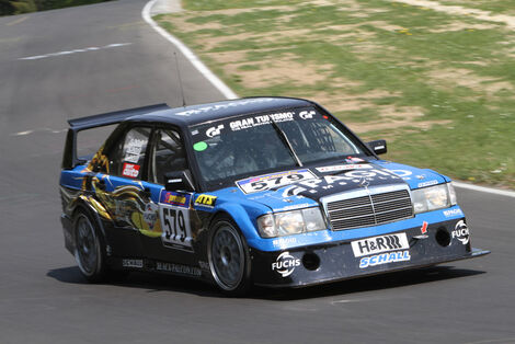 VLN, 2011, #579, Klasse H3 , Mercedes-Benz 190E, BLACK FALCON TEAM TMD FRICTION