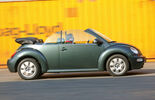 VW Beetle Cabrio, Seitenansicht