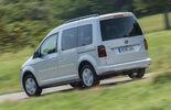 VW Caddy 2.0 TDI, Heckansicht