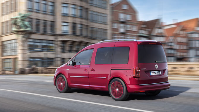 vw caddy facelift so f hrt version 4 0 auto motor und sport. Black Bedroom Furniture Sets. Home Design Ideas