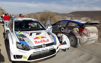 VW Ford Rallye Mexiko 2013