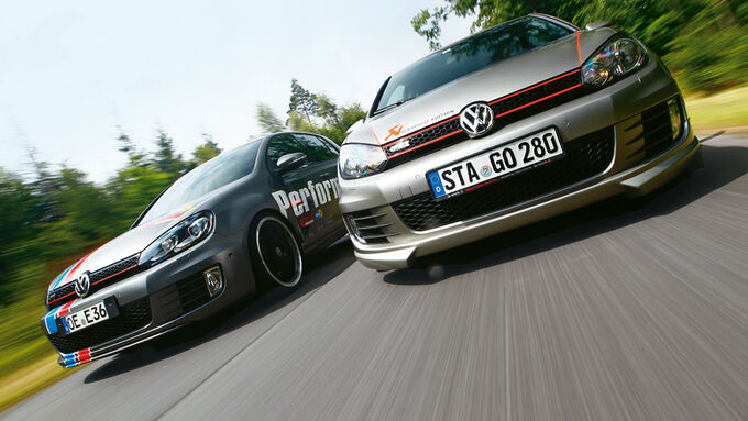 VW Golf Eibach, VW Golf Akrapovic