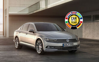 VW Passat Car of the Year 2015